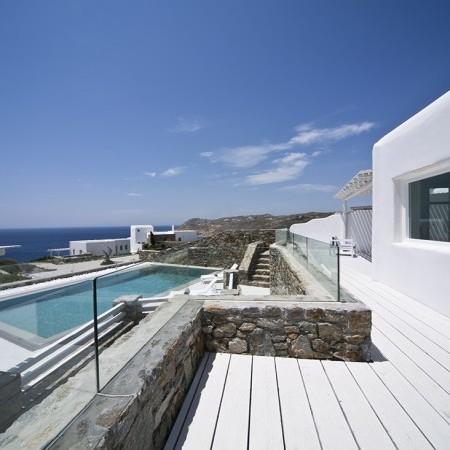 Mykonos Villa veranda