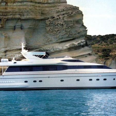 falcon 100 ft yacht mykonos