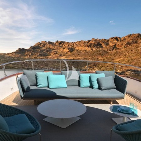 boat deck living area