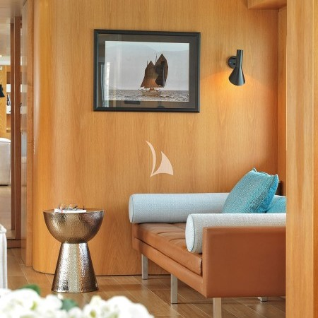 yacht's decor detail