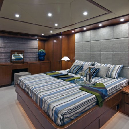 yacht helios master cabin