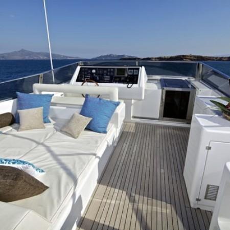 sun loungers deck