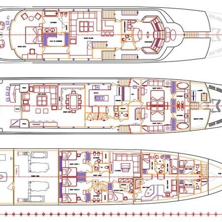 I Sea yacht layout