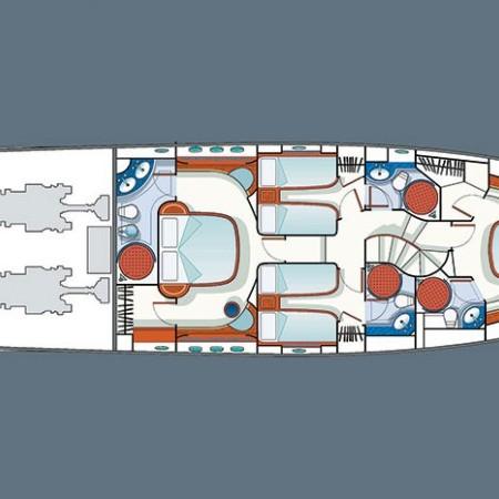 Azimut 75 yacht Mykonos