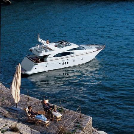 Azimut 75 Yacht Charter Greece