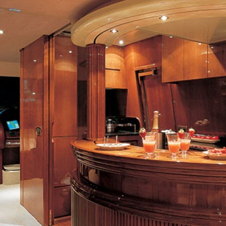 Azimut yacht interior