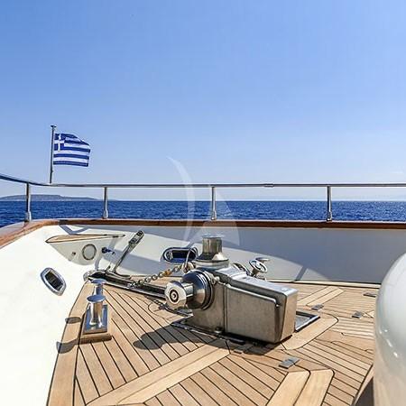 Azimut yacht charter Mykonos