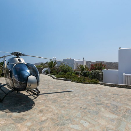 helicopter access to the vproperty