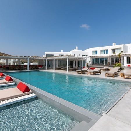 20 bedroom villa for rent in Mykonos