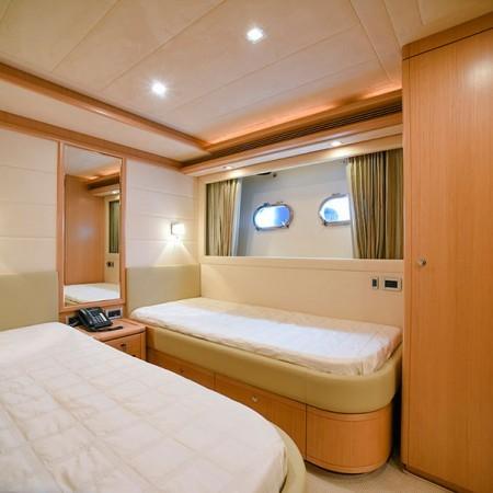 Ferretti 83 cabin