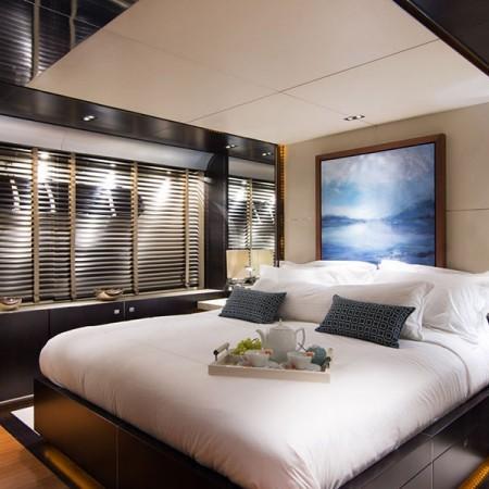kabobs blue yacht cabin