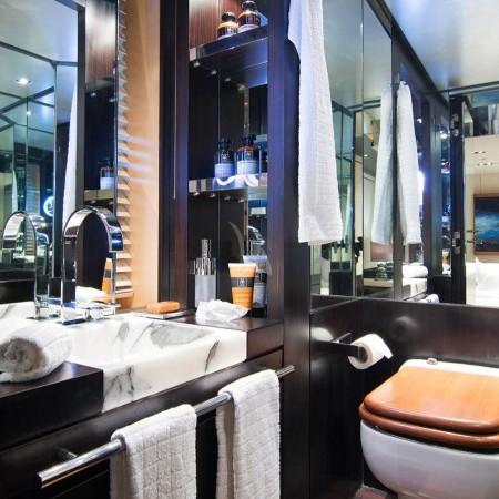 kabobs blue yacht bathroom