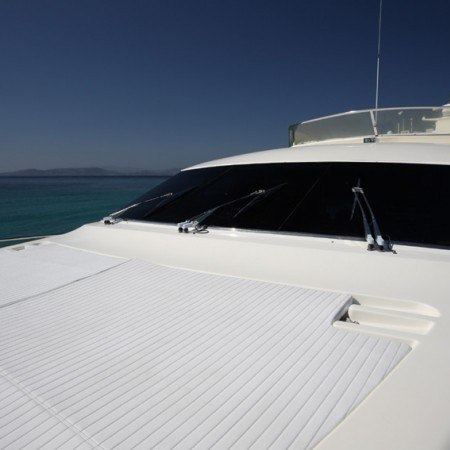 yacht sun loungers