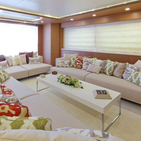kintaro yacht living area