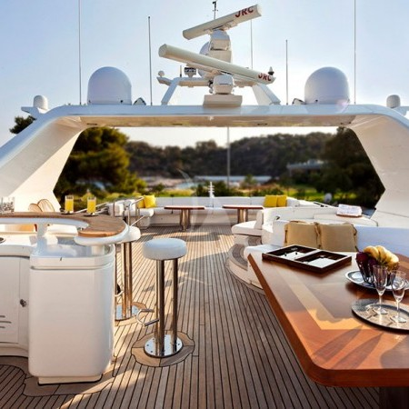 Lady P yacht charter in Greece