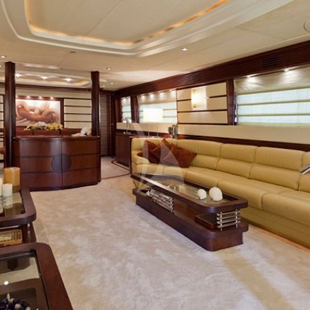 Lady P luxury yacht