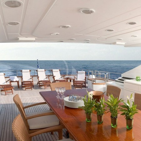 let it be yacht deck