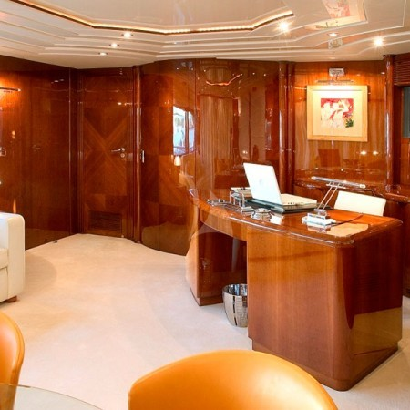 let it be yacht interior