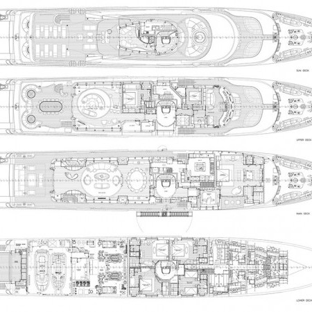 light holic yacht layout
