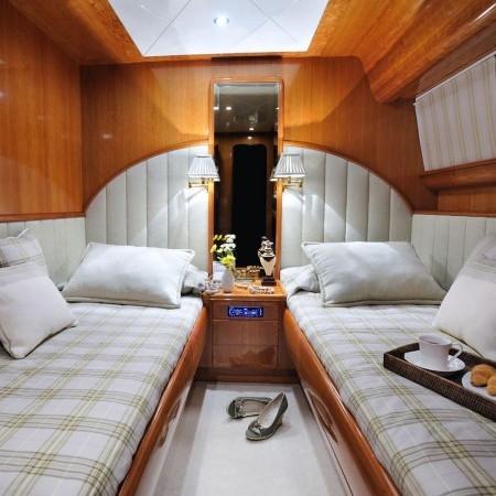 twin cabin Blu Sky Yacht