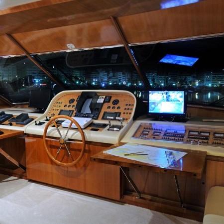 Blu Sky Yacht bridge