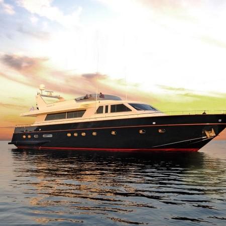 Blu Sky Yacht sunset time