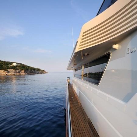 blu sky luxury yacht