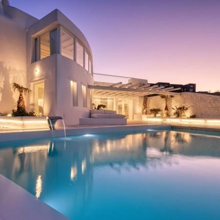 Mykonos villa 10 bedrooms