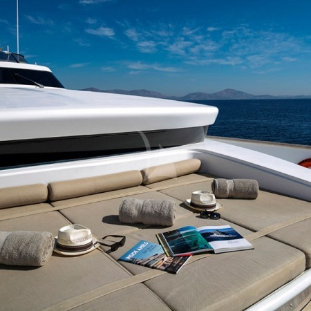 mabrouk yacht exterior
