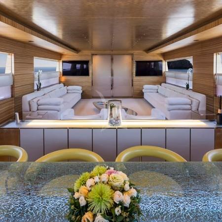 mabrouk yacht interior living