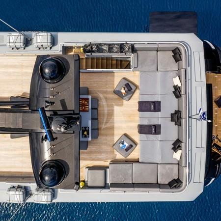 Mado Yacht aerial shot