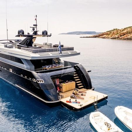 Mado yacht anchored