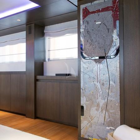 yacht's interior detail
