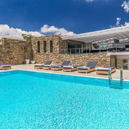 mykonos villas at Elia area