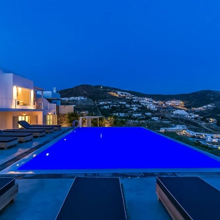 mykonos villas at Elia area