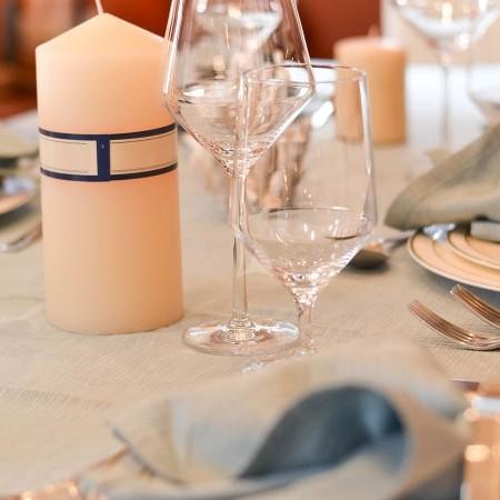 marnaya yacht dining detail