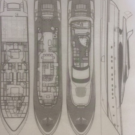 Marnaya yacht layout