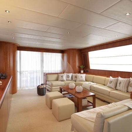 Martina yacht living area