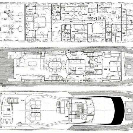 Martina yacht layout