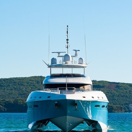 mega yacht greece