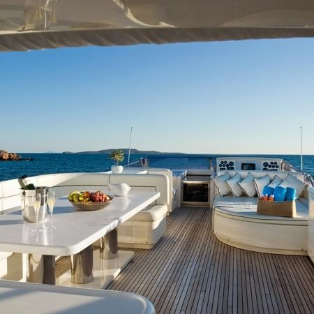 dilias yacht deck