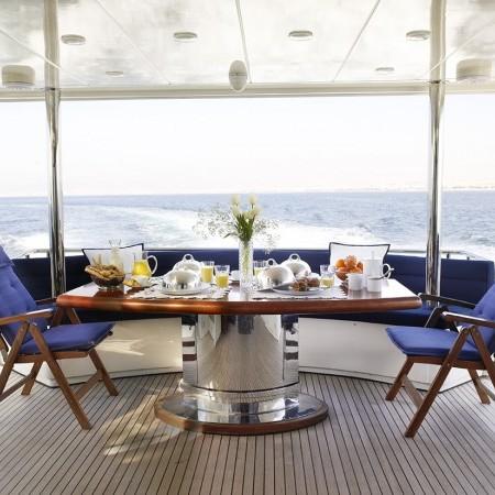 dream b yacht charter