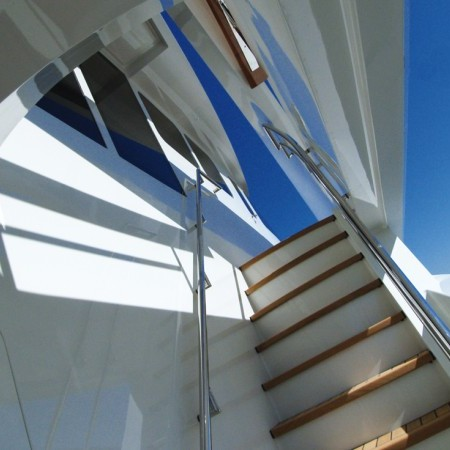 flybridge stairs
