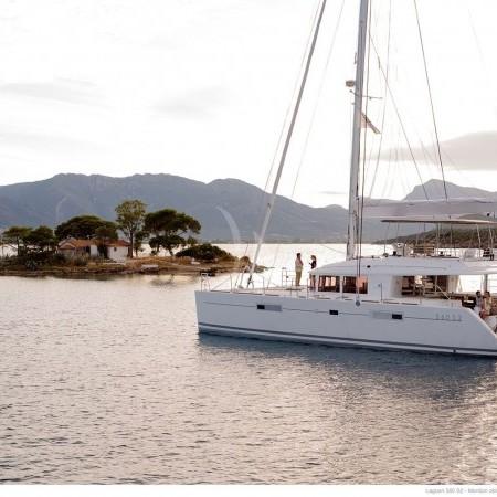 catamaran yacht Mykonos