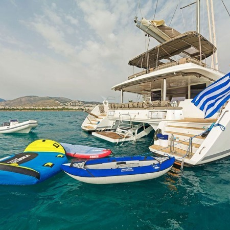 catamaran yacht Greece