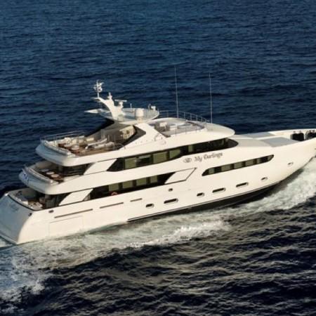my darlings mega yacht