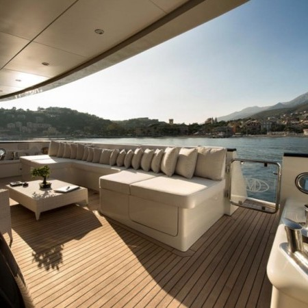 my darlings yacht deck
