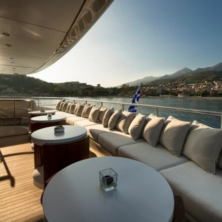 yacht deck lounge