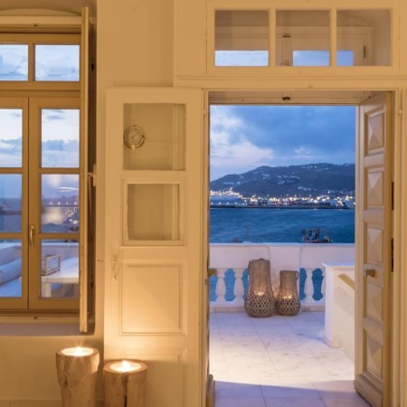 Mykonos Town Villa with sea view