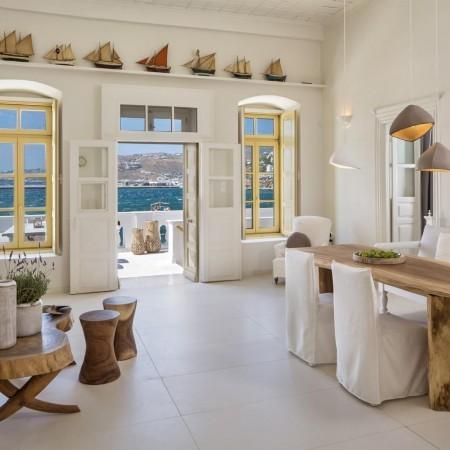 Mykonos Town villa interior